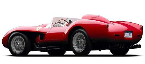 Ralph Lauren 1958-as Ferrari 250 Testa Rossája