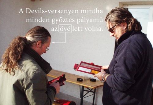 Művész Zoli és Gigamachine Csaba a V-Max alkatrészeivel
