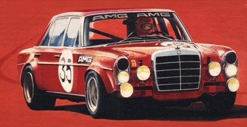 Mercedes-Benz 300 SEL 6.8 AMG. Forrás: Auto Motor und Sport