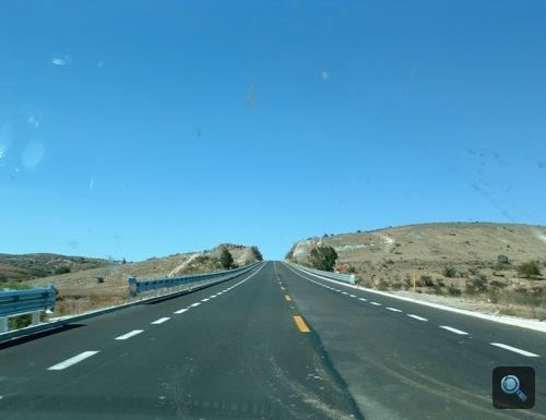Nagyjából semmi egy mexikói autópályán