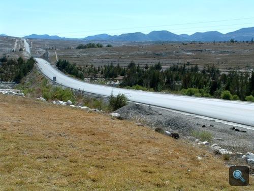 Még több semmi egy mexikói autópályán