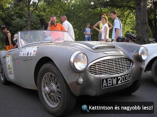 Austin-Healey 3000 a 2006-os Budapest Classic Grand Prix-n. Fotó: camell429