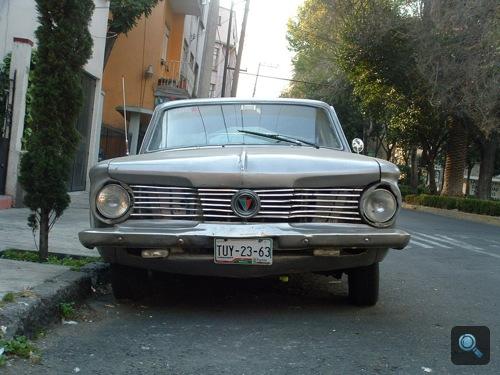 Plymouth Barracuda szemből