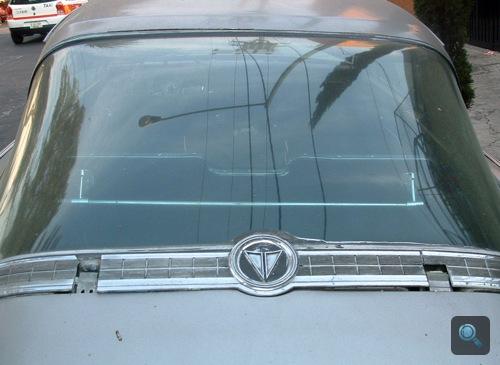 Plymouth Barracuda hatalmas hátsó ablaka