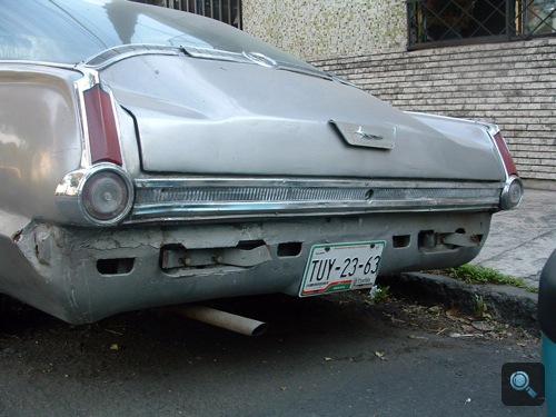 Plymouth Barracuda hátulról