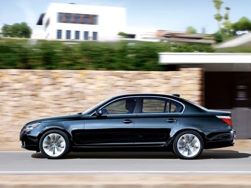 BMW E60 5-ös. Fotó: BMW