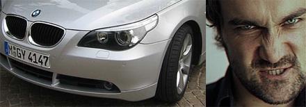 5-ös BMW lámpájának egy másik értelmezése