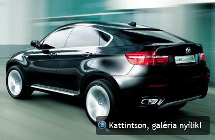 BMW X6 tanulmányautó. Forrás: BMW AG