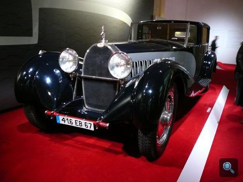 Bugatti Royale a Bécsi Műszaki Múzeum Chromjuwelen - Autos mit Geschichte kiállításán. Fotó: Bpower
