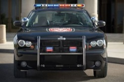 Dodge Charger rendőrautó Mexikóban