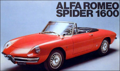 Alfa Romeo Spider 1600 Duetto