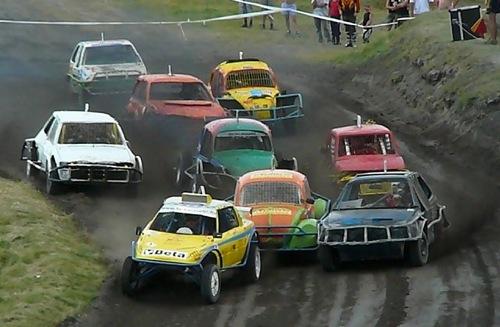 A 2007-es rúzsai autókrossz verseny. Forrás: Farkas Zsolt blogja