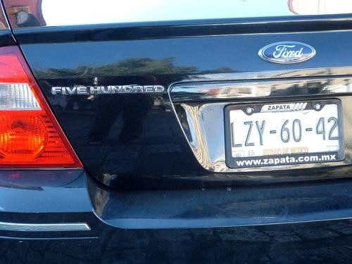 Ford Five Hundred hátulról