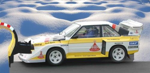Audi Quattróból készített hókotró