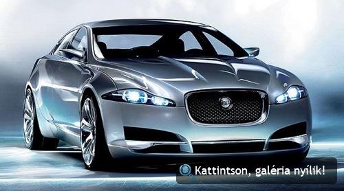 Jaguar C-XF tanulmányautó. Fotó: Jaguar