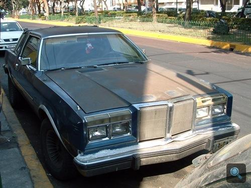 Chrysler LeBaron Mexikóvárosban