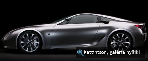 Lexus LF-A. Fotó: Lexus