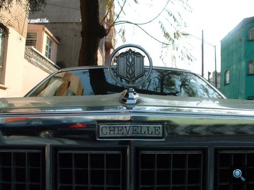 Chevrolet Chevelle Malibu orra Mexikóvárosban