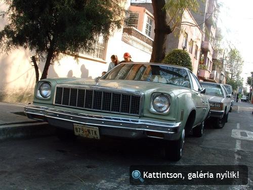 Chevrolet Chevelle Malibu Mexikóvárosban