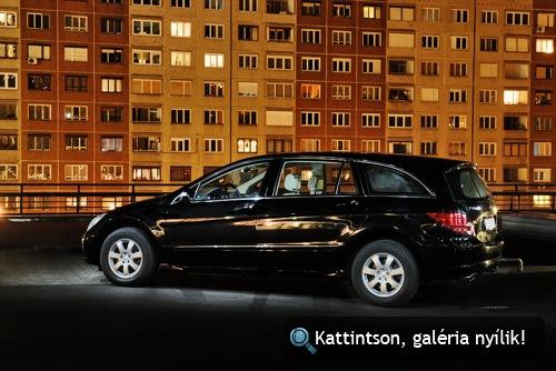 Mercedes-Benz R320 CDI. Fotó: Fenyő Balázs