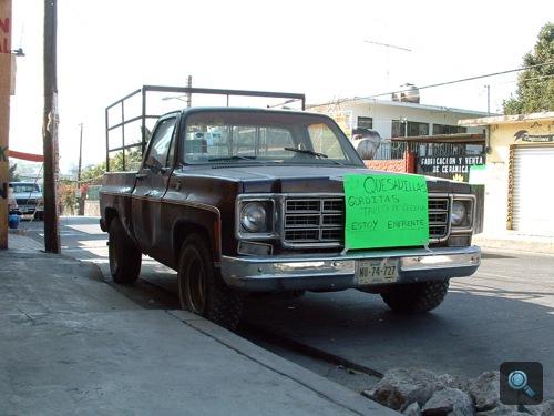 A taco-árus Chevrolet C/K-ja