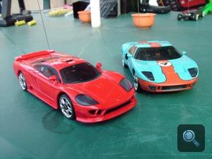 Ford GT és Saleen S7 játékautók