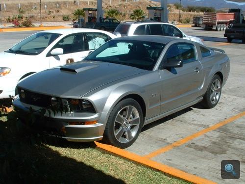 Ford Mustang GT Mexikóvárosban