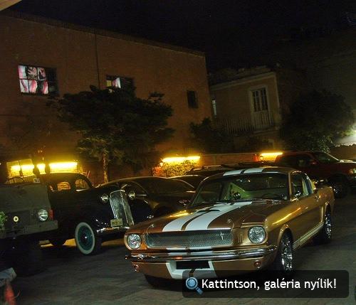 1965-ös Shelby GT350 Mexikóvárosban