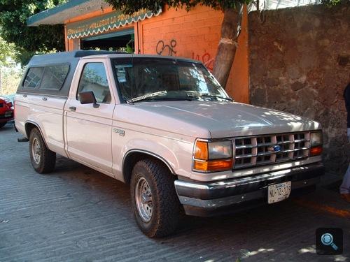 Ford Ranger Mexikóban