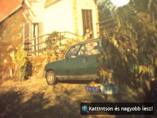 A szerző Renault 5-öse. Fotó: Winkler mama