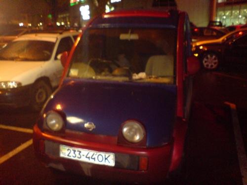 Nissan S-Cargo Odesszában. Fotó: Dövan