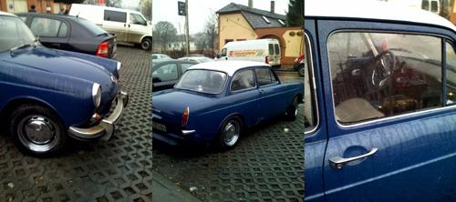 Kék Volkswagen Typ 3. Fotó: Szupertónia