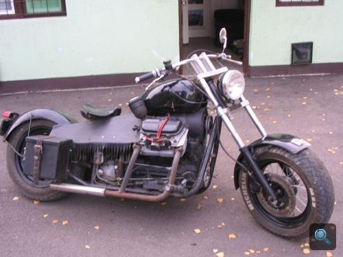 Zaporozsec-motoros Harley-Davidson. Fotó: GiXXXer Varga
