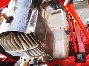 A Busórájder 125-ös MZ motorja
