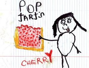 Cseresznyés Pop-Tart rajza. Forrás: Sean Gleeson