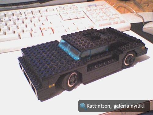 Fekete Matchbox-autó. Fotó: George