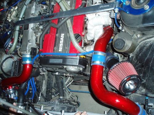 Karotta Nissan 200SX-ének motorja