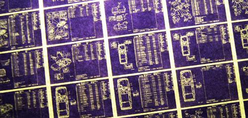 Mikrofilm olvasó