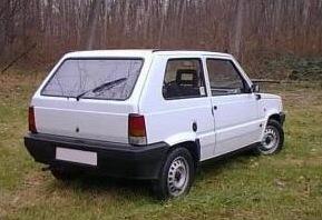 Fehér Fiat Panda. Forrás: Használtautó.hu
