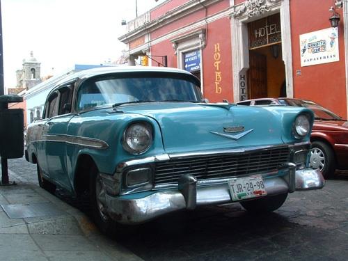 Chevrolet Bel Air Mexikóvárosban