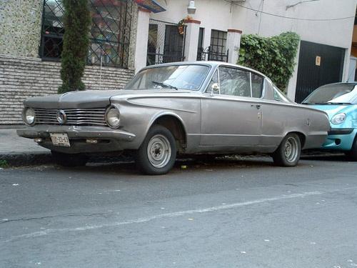 Plymouth Barracuda Mexikóvárosban