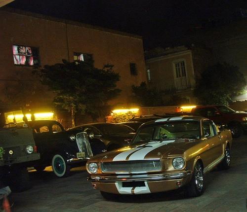 1965-ös Shelby Mustang 350GT Mexikóvárosban