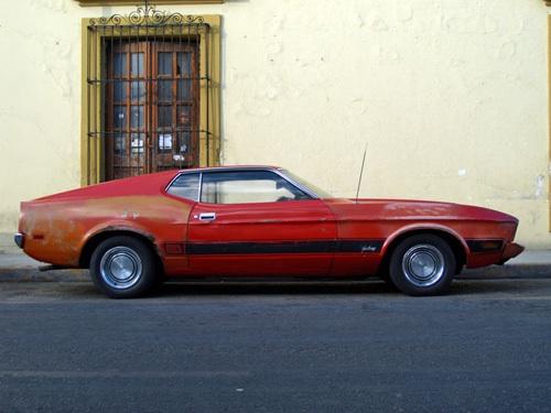Ford Mustang Mach I Mexikóvárosban
