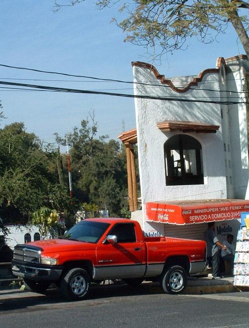 Dodge Ram Mexikóvárosban