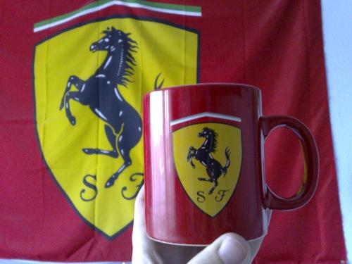 Ferraris bögre. Fotó: Enzo