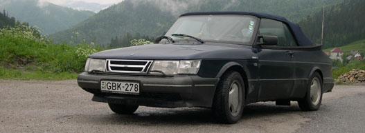 Saját Saab 900 Cabrio, most felújítás alatt