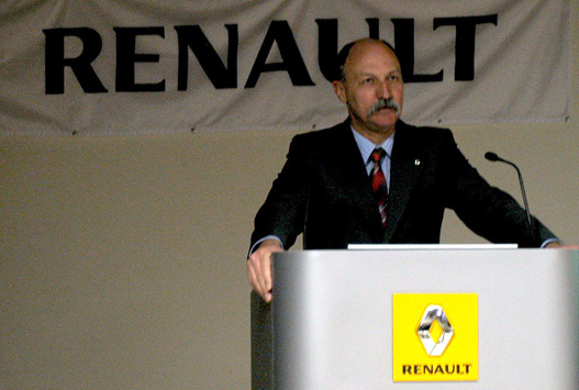 Maróthy Miklós, a Renault Hungária  új ügyvezetője