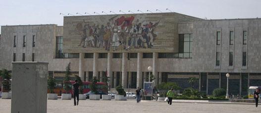 A Nemzeti Múzeum Tiranában