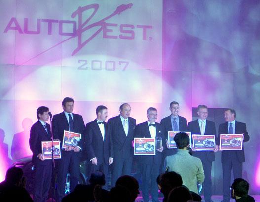 A 2007. évi díjazottak kara