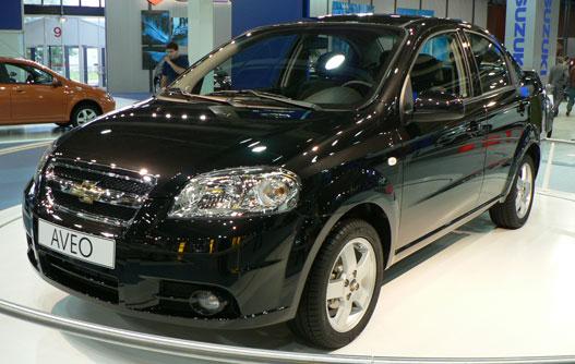 Chevrolet Aveo a második